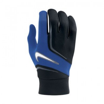 ltwt field players gloves adlt blue
