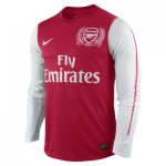 arsenal ls home auth jsy artillery red