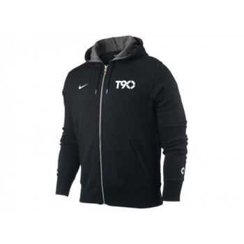 t90 hoodie fleece black