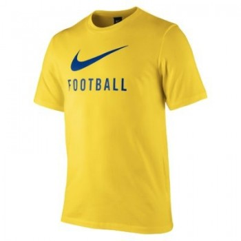 spgx swoosh football tee yellow