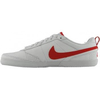 nike topcourt white red