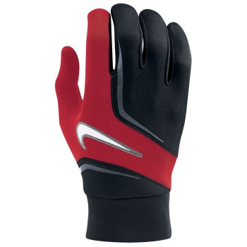 ltwt field players gloves adlt red