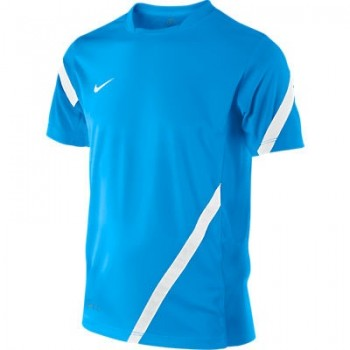 nike premier ss training top blue