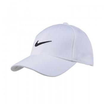 classic swoosh cap white